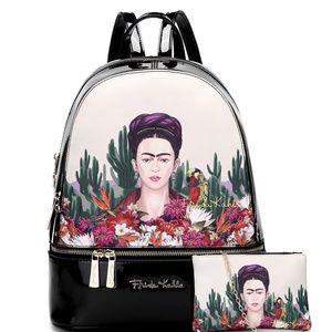 Authentic Frida Kahlo Cactus Series Backpack